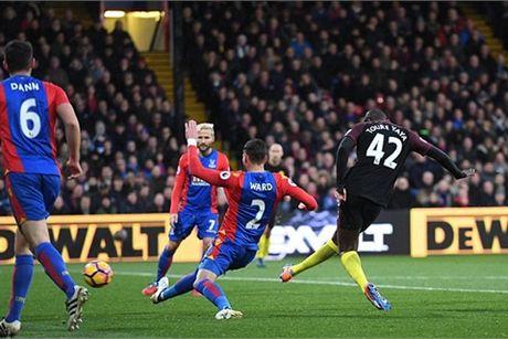 Video ban thang Crystal Palace 1-2 Man City - Anh 1