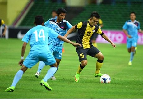 Link xem truc tiep Malaysia vs Campuchia, AFF Cup 2016 - Anh 1