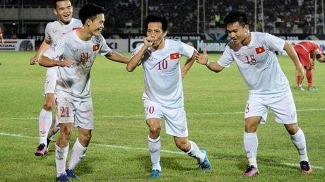 Viet Nam 2-1 Myanmar: Khoi dau hoan hao - Anh 1