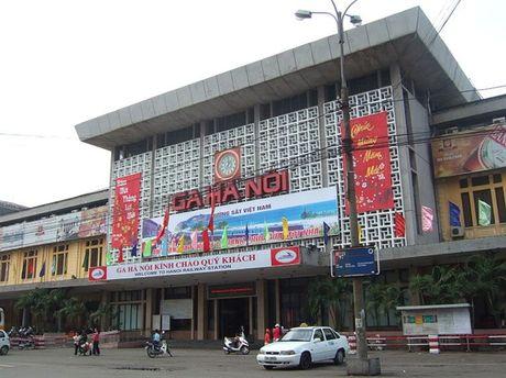 Am vong tieng coi tau tren san ga Hang Co Ha Noi - Anh 1