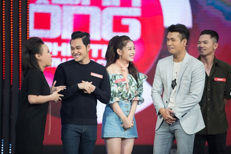 Chi Pu, Quang Vinh 'vat va' trong game show ''My man can – Dan ong phai the'' - Anh 1
