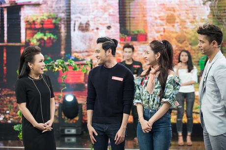 Chi Pu, Quang Vinh 'vat va' trong game show ''My man can – Dan ong phai the'' - Anh 2
