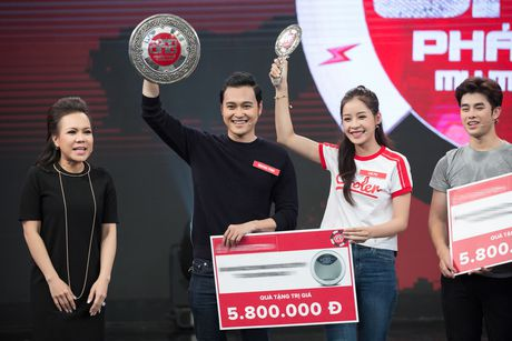 Chi Pu, Quang Vinh 'vat va' trong game show ''My man can – Dan ong phai the'' - Anh 7