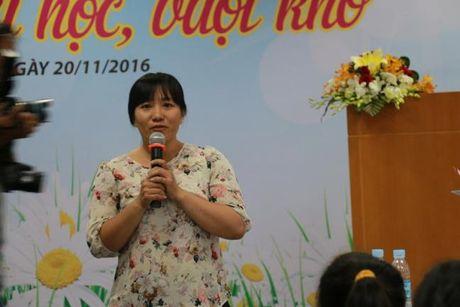 Bao Phu Nu trao hoc bong 'Nu sinh hieu hoc, vuot kho': De viec den truong la niem vui... - Anh 5