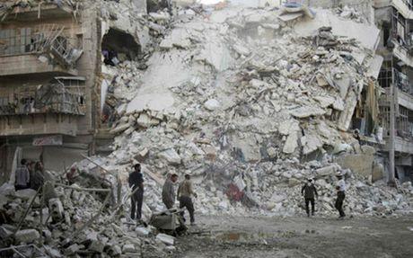 My yeu cau ngung doi bom vao cac benh vien o Aleppo - Anh 1