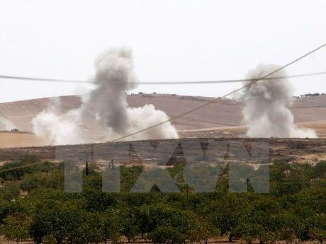 May bay Tho Nhi Ky pha huy gan 20 muc tieu IS o Bac Syria - Anh 1