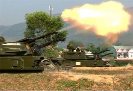 Xem phao ZCY-23-4M Viet Nam diet muc tieu - Anh 1