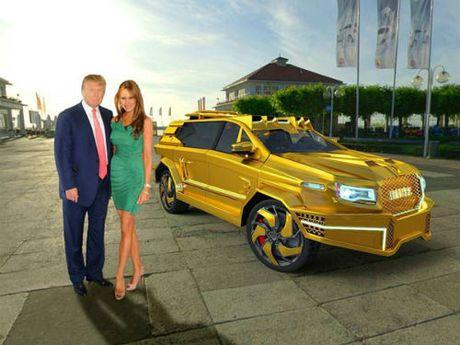 Se co xe boc vang thap tung ong Donald Trump? - Anh 1
