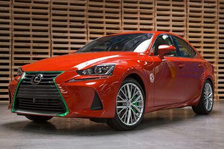 Lexus IS phien ban 'tuong ot' Sriracha doc nhat vo nhi - Anh 1