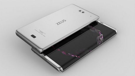 Sony Zeus man hinh cong sieu dep doa nat iPhone 8 - Anh 1