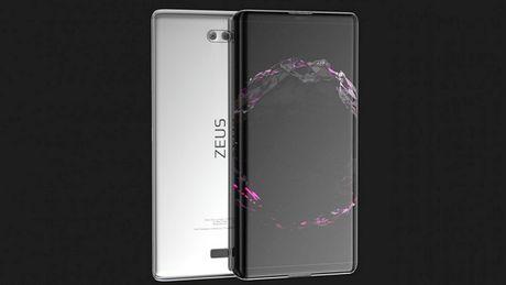 Sony Zeus man hinh cong sieu dep doa nat iPhone 8 - Anh 2