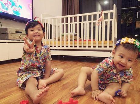 Hai con trai dang yeu, khau khinh cua Dan Le - Khai Anh - Anh 6