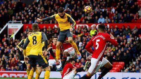 MU 1-1 Arsenal: Tuong thuat bang tho - Anh 1