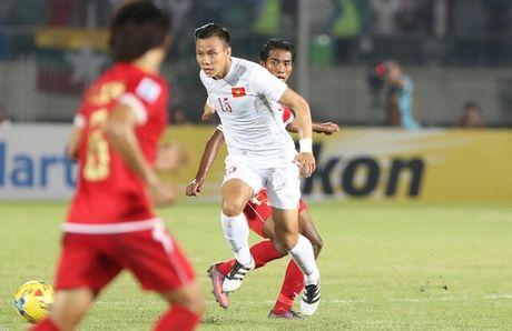 Cham diem DT Viet Nam vs Myanmar: Cong Vinh la so 1 - Anh 1
