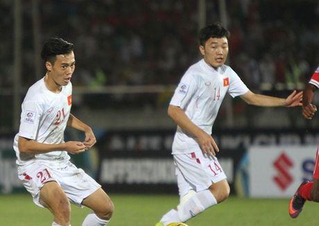 Cham diem DT Viet Nam vs Myanmar: Cong Vinh la so 1 - Anh 2