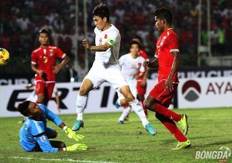 Cham diem DT Viet Nam vs Myanmar: Cong Vinh la so 1 - Anh 3