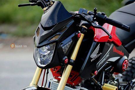Minibike Honda MSX 125 'do cung' tai Da thanh - Anh 2