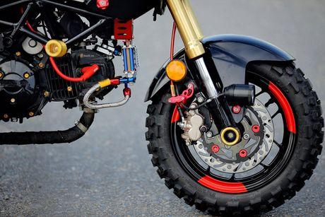 Minibike Honda MSX 125 'do cung' tai Da thanh - Anh 4