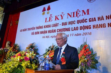 Khoa Luat DHQG Ha Noi: Ki niem 40 nam truyen thong va don nhan Huan chuong Lao dong hang Nhi - Anh 1