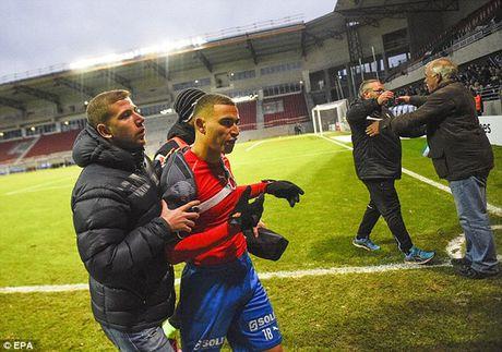 Helsingborgs rot hang, cha con Larsson bi tan cong - Anh 2