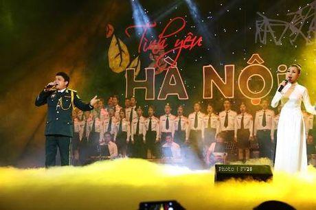 "Dem nhac ""Tinh yeu Ha Noi"" – cuoc hoi ngo cua ba nhac sy tai hoa - Anh 1"
