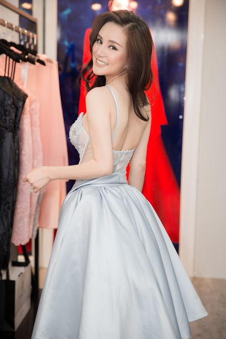 Vy Oanh hao hung khoe con trai 'hot boy' - Anh 5