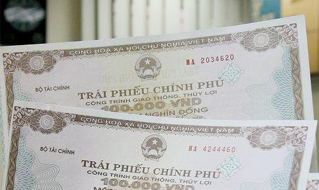 Kho bac Nha nuoc huy dong trai phieu Chinh phu dat 95,91% ke hoach - Anh 1