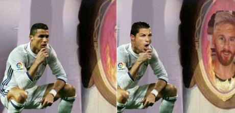 Ronaldo an mung kieu moi: Cong dong mang phat sot - Anh 3