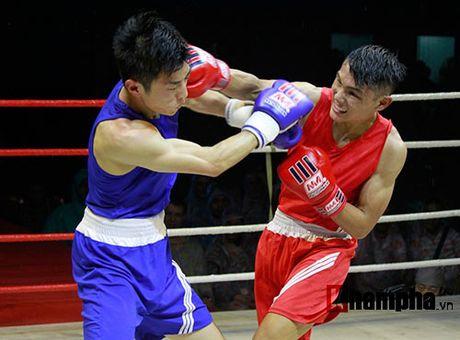 Nguoi dep doi mua xem so tai boxing Viet - Nhat - Anh 1