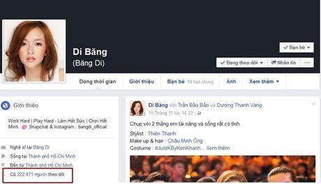 Hang loat sao Viet, hot teen bi mat qua nua luong follower Facebook chi sau 1 dem - Anh 2