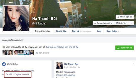 Hang loat sao Viet, hot teen bi mat qua nua luong follower Facebook chi sau 1 dem - Anh 3