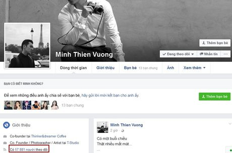 Hang loat sao Viet, hot teen bi mat qua nua luong follower Facebook chi sau 1 dem - Anh 5