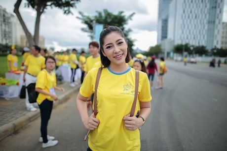 Mai Ngo, Lilly Nguyen, Nam Em cung dan nghe si chay bo tu thien - Anh 18