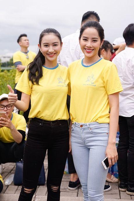 Mai Ngo, Lilly Nguyen, Nam Em cung dan nghe si chay bo tu thien - Anh 27