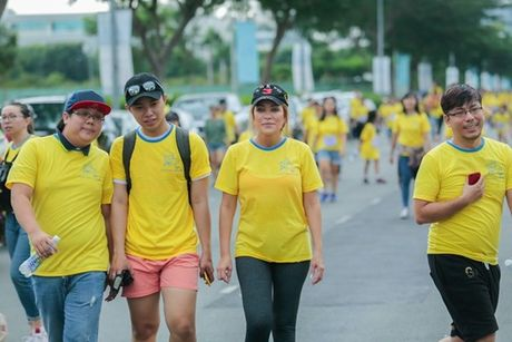 Mai Ngo, Lilly Nguyen, Nam Em cung dan nghe si chay bo tu thien - Anh 33