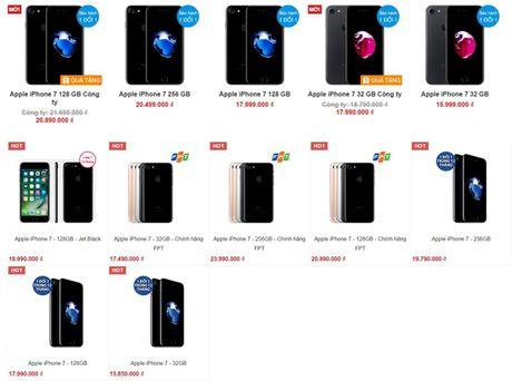 iPhone 7 chinh hang bat dau giam gia manh - Anh 1