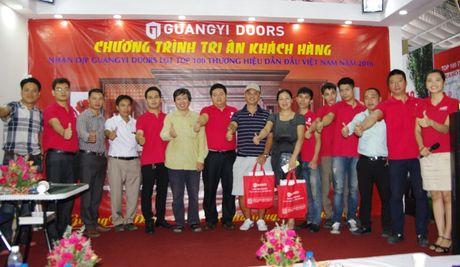 Guangyi Doors tri an khach hang - Anh 2