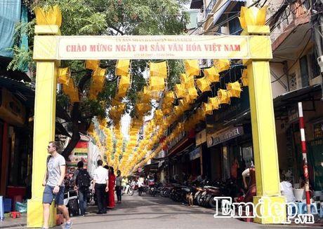 "Ngo ngang truoc ""con duong to"" tuyet dep giua pho co Ha Noi - Anh 3"
