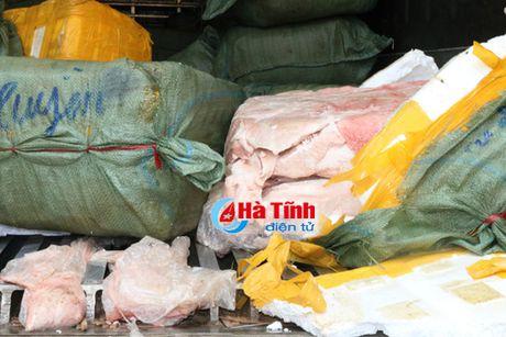 Chan dung vu van chuyen 5,5 tan thit, mo dong vat hoi thoi tu Ha Noi vao - Anh 3