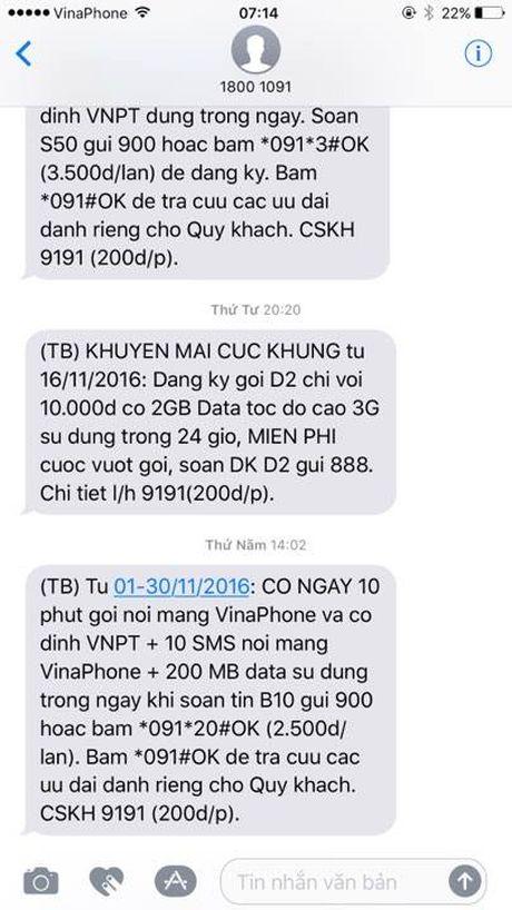 Cac nha mang ngung toan bo khuyen mai di dong toi dau 2017 - Anh 1