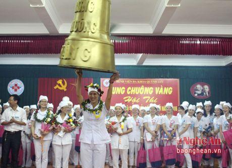 Nu dieu duong dat giai Nhat hoi thi Rung chuong vang - Anh 2