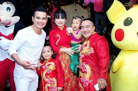 Phi Thanh Van be con den mung sinh nhat cong chua nho nha Hieu Hien - Anh 12