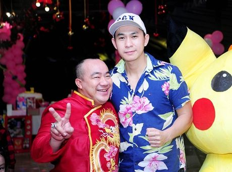 Phi Thanh Van be con den mung sinh nhat cong chua nho nha Hieu Hien - Anh 9