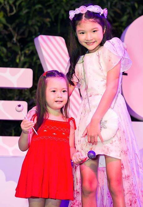 Truong Ngoc Anh va Tran Bao Son to chuc sinh nhat hoanh trang cho con gai - Anh 11
