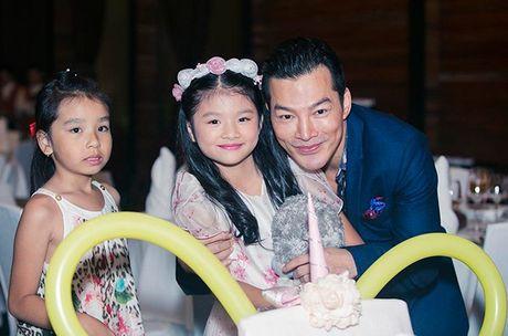 Truong Ngoc Anh va Tran Bao Son to chuc sinh nhat hoanh trang cho con gai - Anh 3