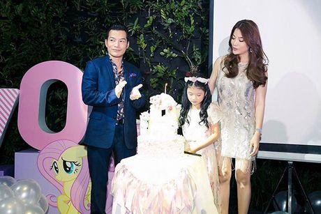 Truong Ngoc Anh va Tran Bao Son to chuc sinh nhat hoanh trang cho con gai - Anh 4