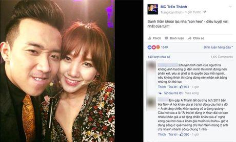 Trai qua bao song gio va cai ket dep cho Hari Won - Tran Thanh - Anh 6
