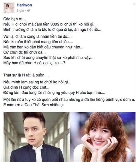 Trai qua bao song gio va cai ket dep cho Hari Won - Tran Thanh - Anh 8