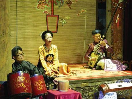 Ca tru - 'Dac san' van hoa dan gian trong long pho co Ha Noi - Anh 1