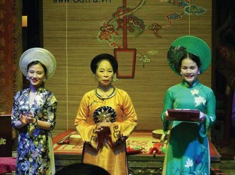 Ca tru - 'Dac san' van hoa dan gian trong long pho co Ha Noi - Anh 4